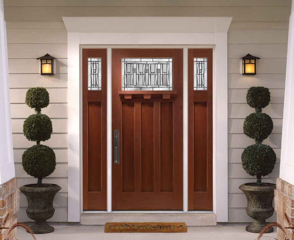 Barrington fiberglass entry doors all weather windows for Fiberglass entrance doors
