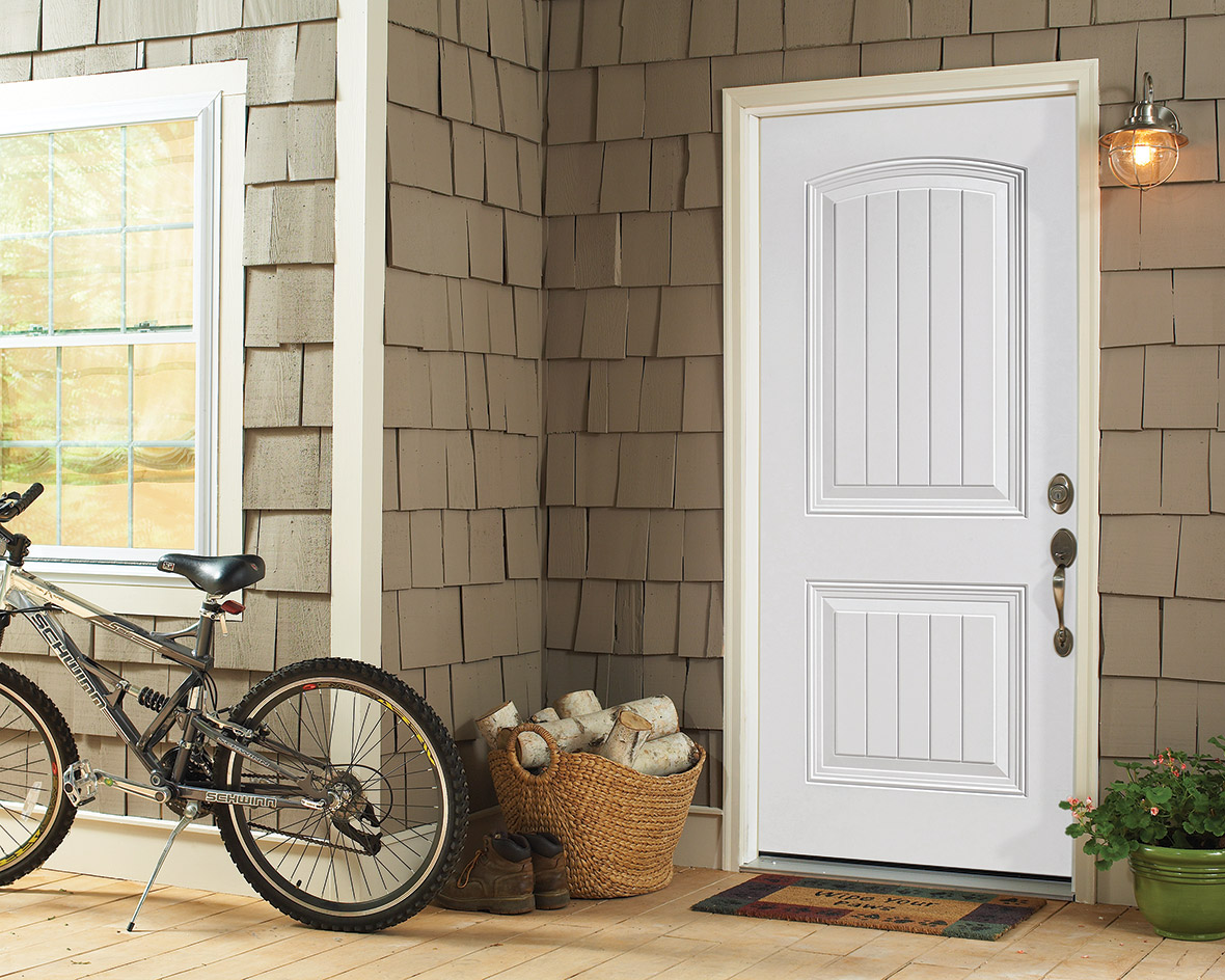 High Definition Steel Entry Doors All Weather Windows
