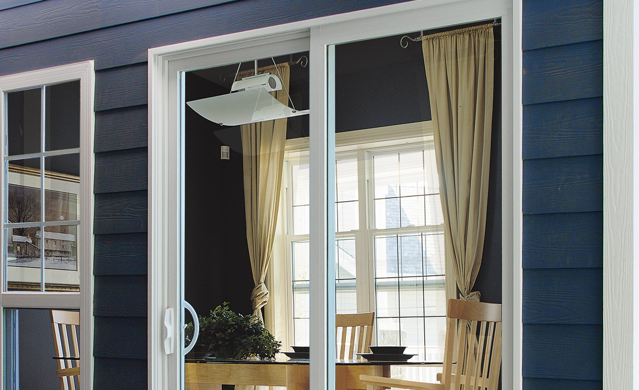 High performance viscount patio doors all weather windows for Location of doors and windows