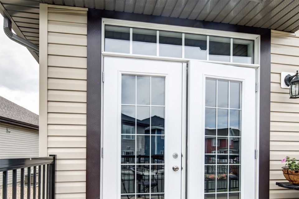 Belleville metal clad garden doors all weather windows for Belleville fiberglass doors
