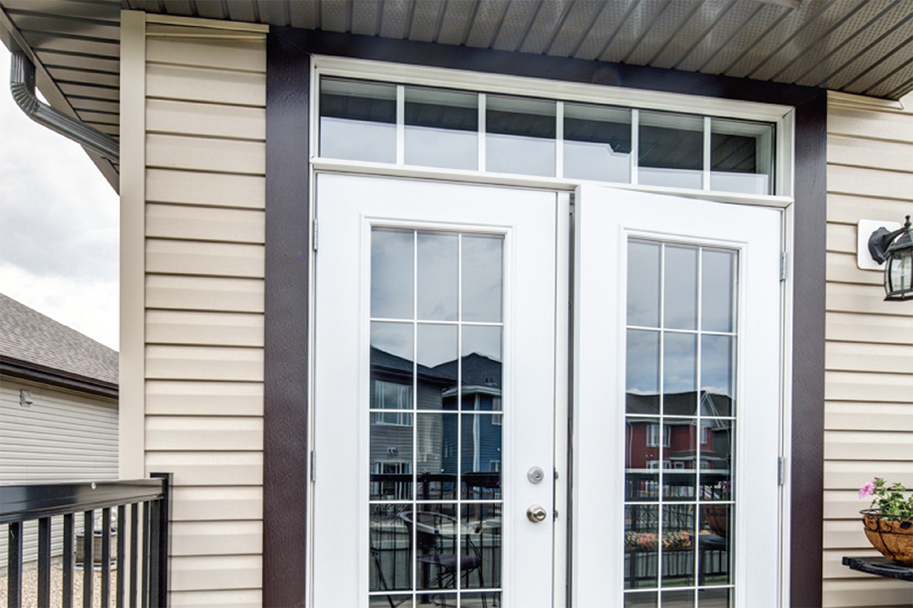 Belleville metal clad garden doors all weather windows for Location of doors and windows